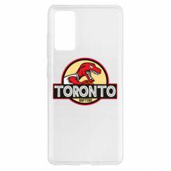 Чохол для Samsung S20 FE Toronto raptors park