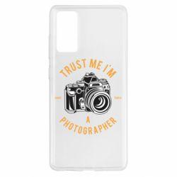Чохол для Samsung S20 FE Trust me i'm photographer