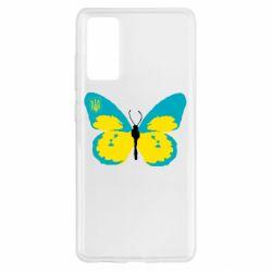 Чехол для Samsung S20 FE Український метелик