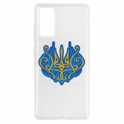 Чохол для Samsung S20 FE Український тризуб монограма