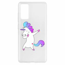 Чехол для Samsung S20 FE Unicorn swag