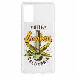 Чохол для Samsung S20 FE United smokers st relax California