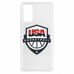 Чохол для Samsung S20 FE USA basketball
