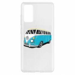 Чехол для Samsung S20 FE Vector Volkswagen Bus