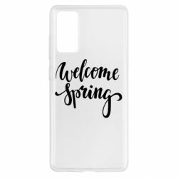 Чохол для Samsung S20 FE Welcome spring