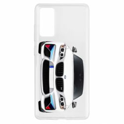 Чохол для Samsung S20 FE White bmw