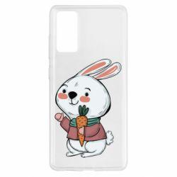 Чохол для Samsung S20 FE Winter bunny