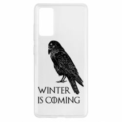 Чохол для Samsung S20 FE Winter is approaching and crow