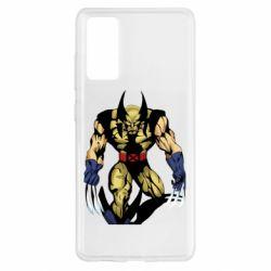 Чохол для Samsung S20 FE Wolverine comics