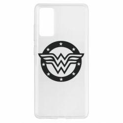 Чохол для Samsung S20 FE Wonder woman logo and stars