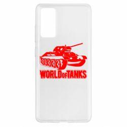 Чохол для Samsung S20 FE World Of Tanks Game