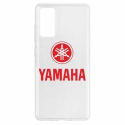 Чохол для Samsung S20 FE Yamaha Logo(R+W)