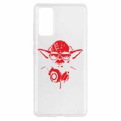 Чохол для Samsung S20 FE Yoda в навушниках