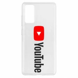 Чехол для Samsung S20 FE Youtube logotype