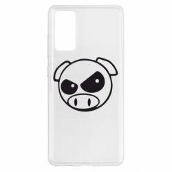 Чохол для Samsung S20 FE Зла свинка