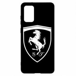 Чохол для Samsung S20+ Ferrari horse