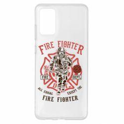 Чохол для Samsung S20+ Fire Fighter