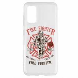 Чохол для Samsung S20 Fire Fighter