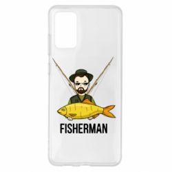Чохол для Samsung S20+ Fisherman and fish