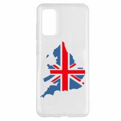 Чехол для Samsung S20 Флаг Англии