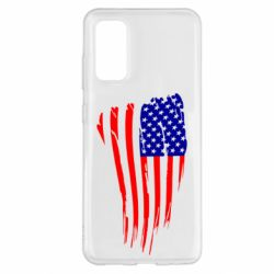 Чохол для Samsung S20 Прапор США