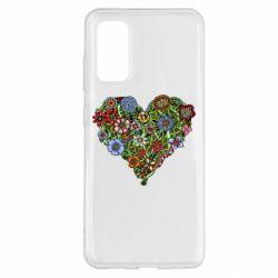 Чохол для Samsung S20 Flower heart