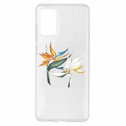 Чехол для Samsung S20+ Flowers art painting