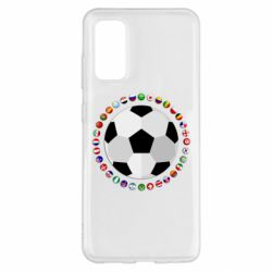Чохол для Samsung S20 Football