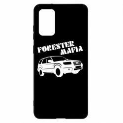 Чехол для Samsung S20+ Forester Mafia