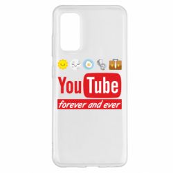 Чохол для Samsung S20 Forever and ever emoji's life youtube