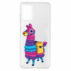 Чохол для Samsung S20+ Fortnite colored llama