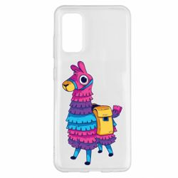 Чохол для Samsung S20 Fortnite colored llama