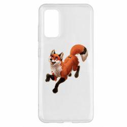 Чехол для Samsung S20 Fox in flight