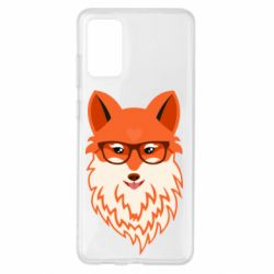 Чехол для Samsung S20+ Fox with a mole in the form of a heart