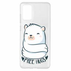 Чохол для Samsung S20+ Free hugs bear