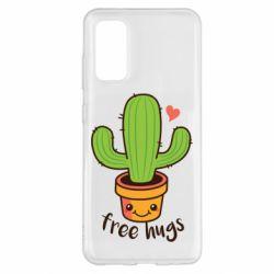 Чохол для Samsung S20 Free Hugs Cactus