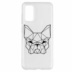 Чехол для Samsung S20 French Bulldog Art