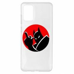 Чохол для Samsung S20+ Fuck Batman