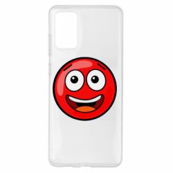 Чохол для Samsung S20+ Funny Red Ball