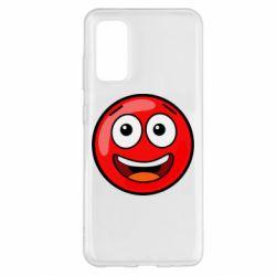 Чохол для Samsung S20 Funny Red Ball