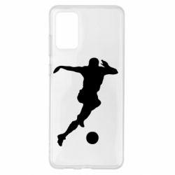 Чохол для Samsung S20+ Футбол