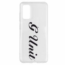 Чохол для Samsung S20 G Unit