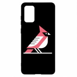 Чохол для Samsung S20+ Geometric Bird