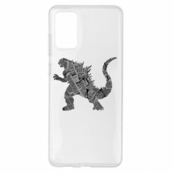 Чохол для Samsung S20+ Godzilla from the newspapers