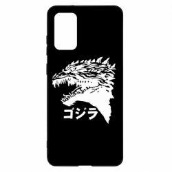 Чохол для Samsung S20+ Godzilla in japanese