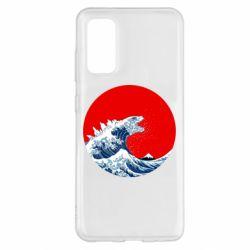 Чохол для Samsung S20 Godzilla Wave