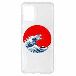 Чохол для Samsung S20+ Godzilla Wave