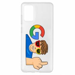 Чохол для Samsung S20+ Google guy Fuck You