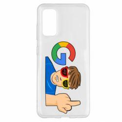 Чохол для Samsung S20 Google guy Fuck You