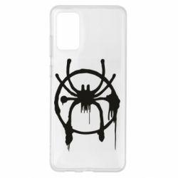 Чохол для Samsung S20+ Graffiti Spider Man Logo
